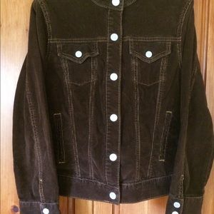 Gap size M Brown corduroy jacket
